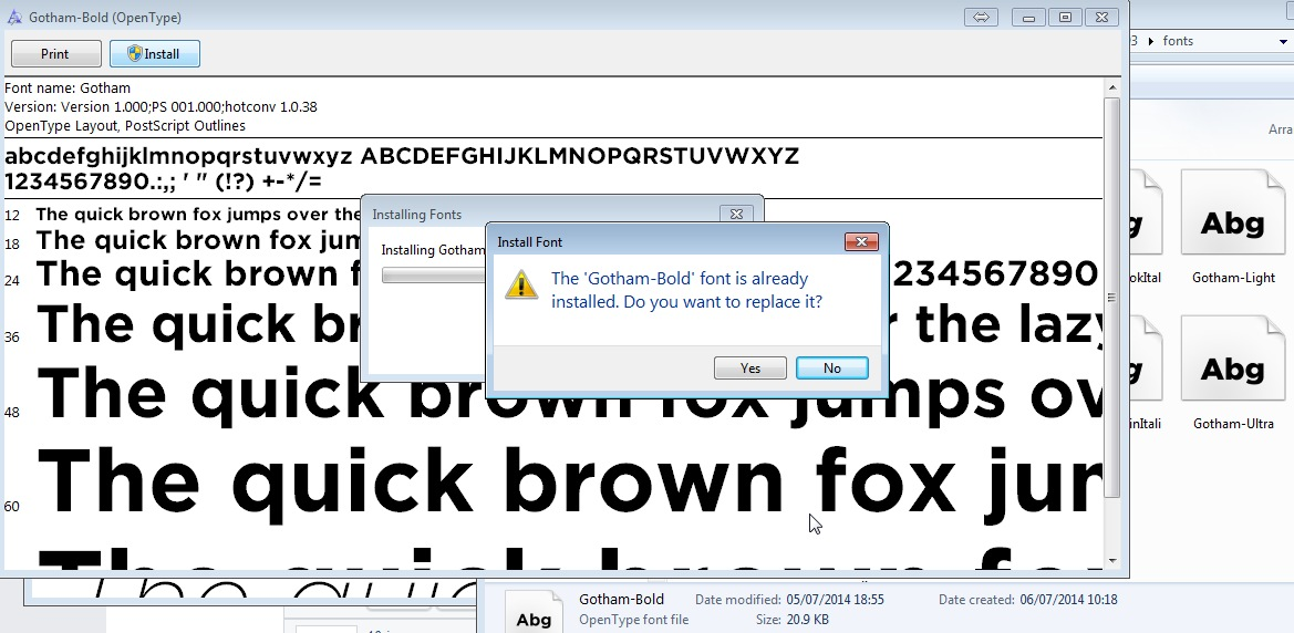 Fonts not showing up | Windows Forum