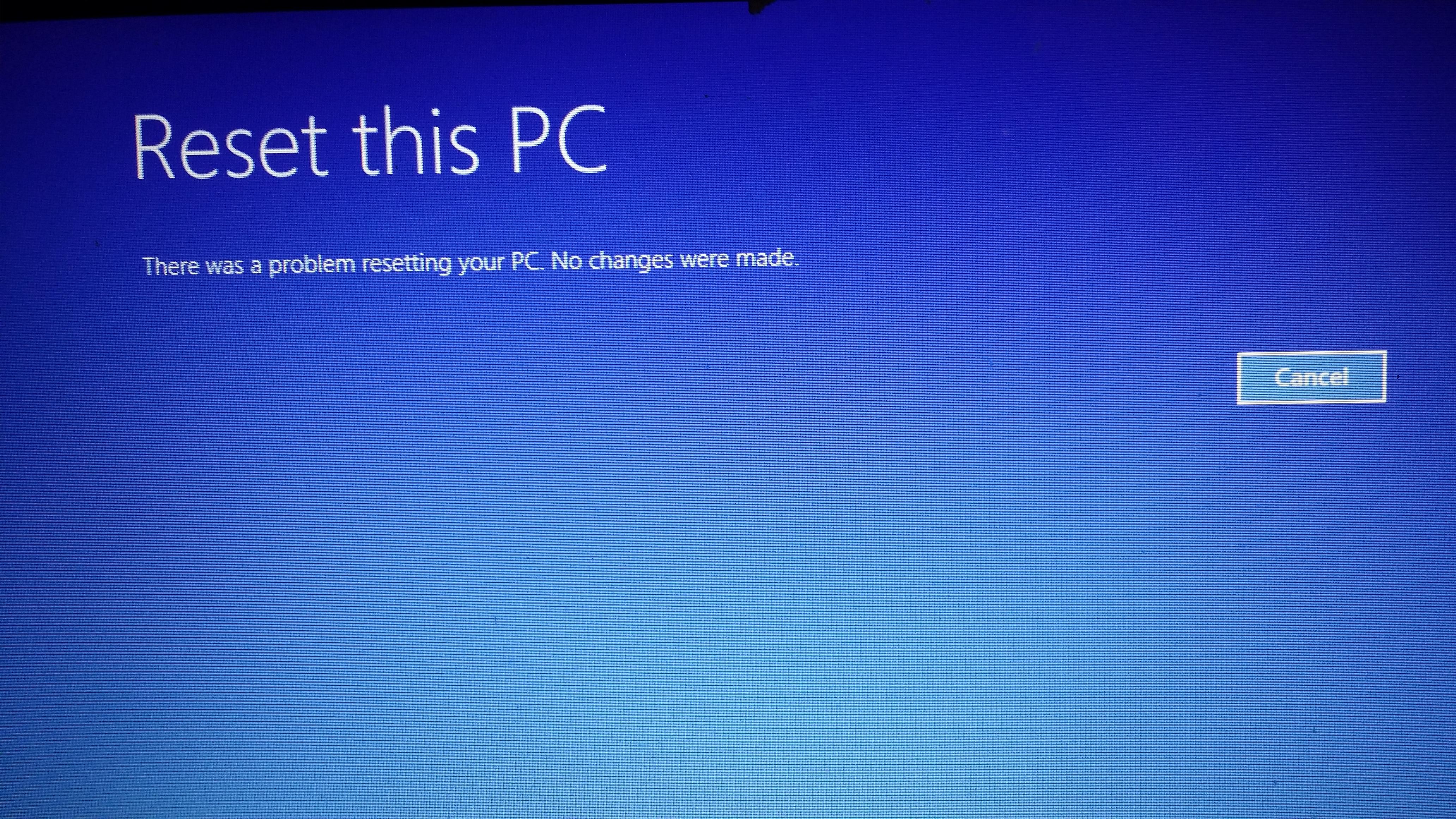 Request help in resetting Asus X551C Laptop Running Windows