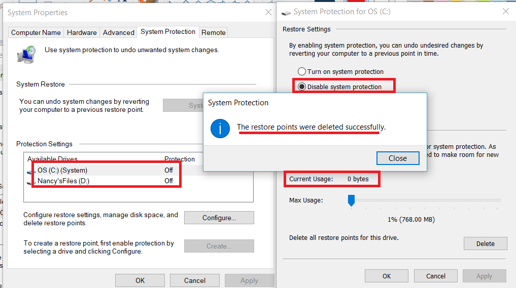 unknown ssd/harddrive space | Windows Forum