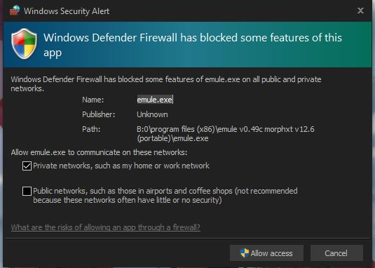 Windows Firewall keeps asking for permissions   Windows Forum