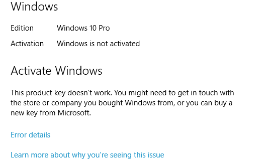 Windows 10 activation from an activated windows insider windows forum captureg ccuart Gallery