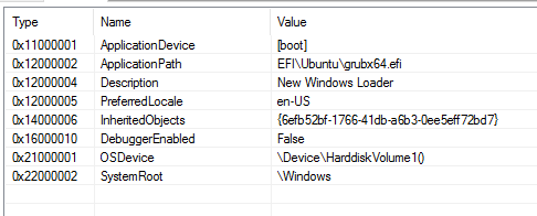 How can I add a new entry to the Windows boot manager