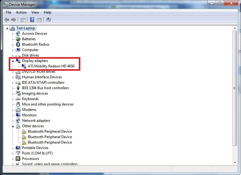 скачать видео драйвера для windows 7 vga
