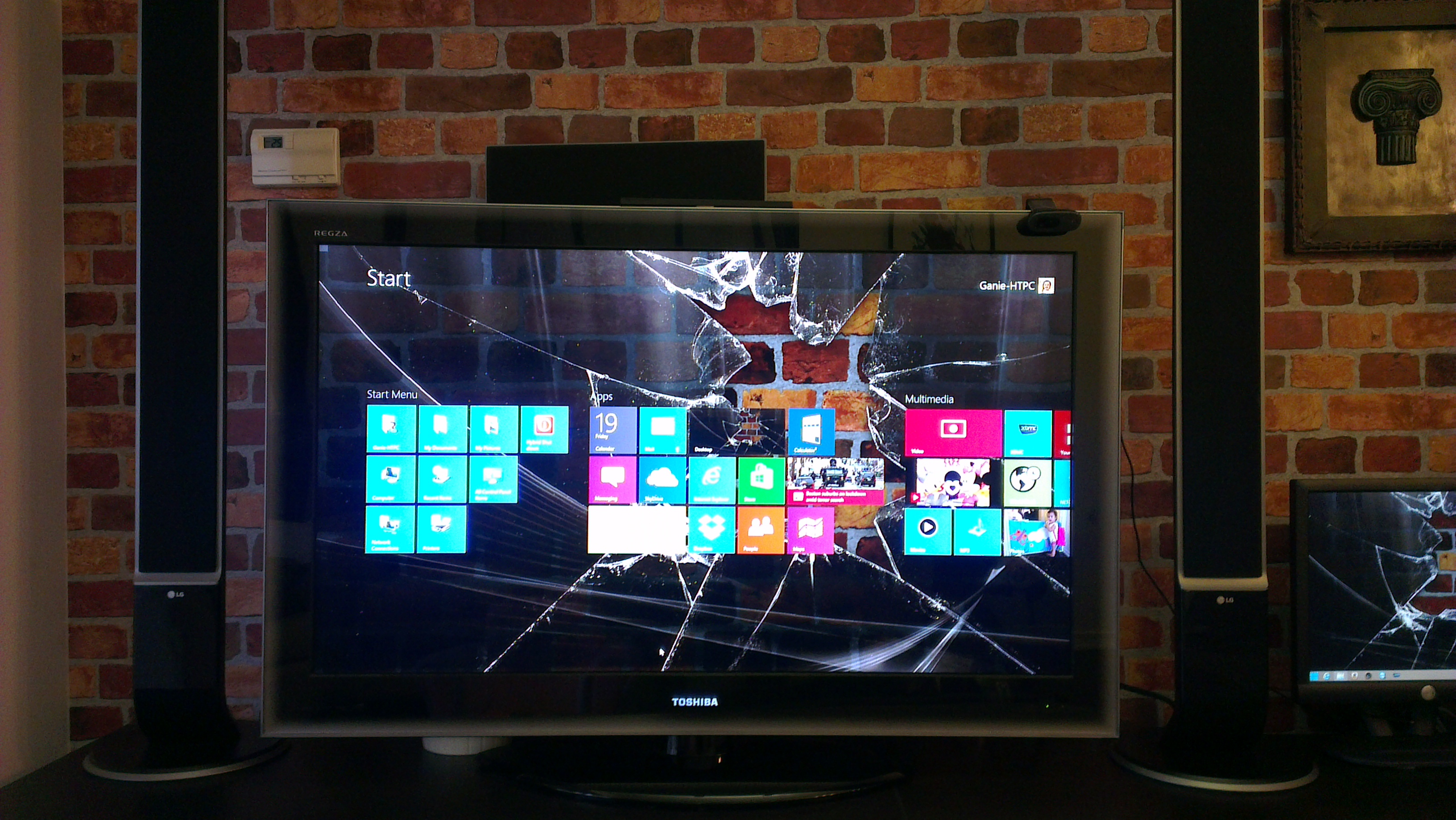 Broken tv screen repair cost