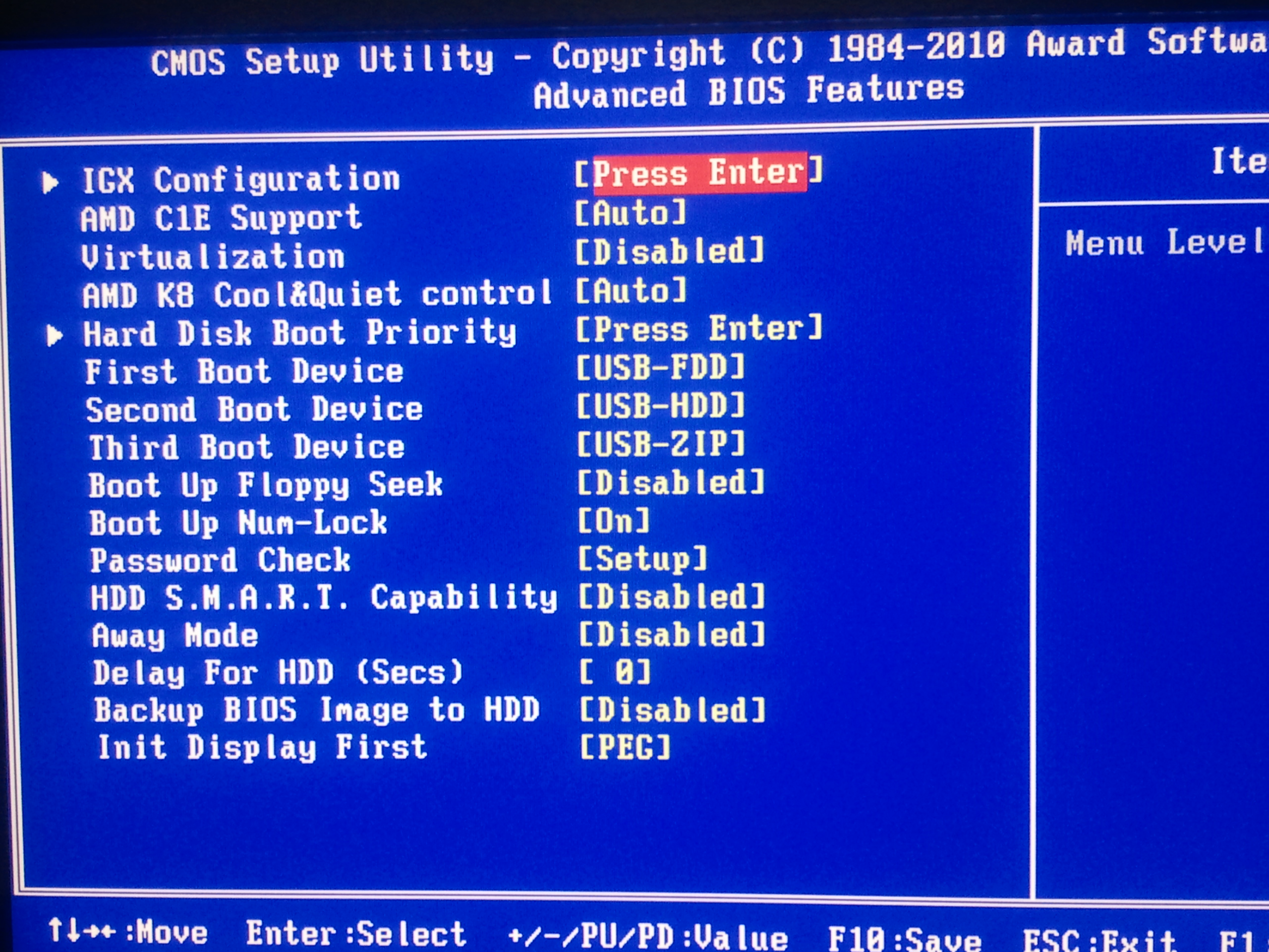 Ga Ma785gmt Best Bios Settings Windows Forum