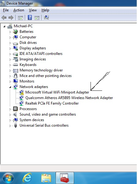 Microsoft Miniport Wifi Adapter Driver
