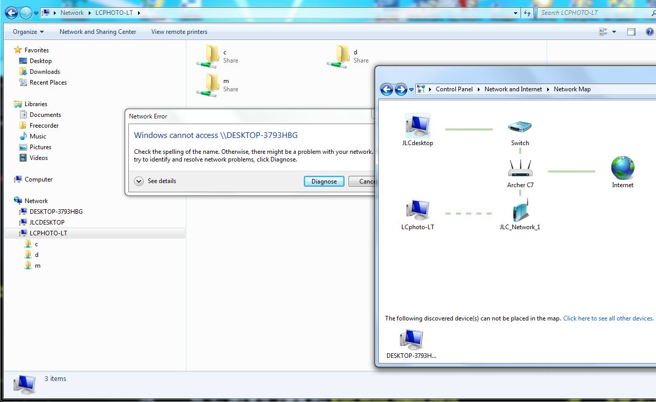 Problem setting up network between Win 10 & 7 | Windows Forum on windows 7 printers, windows 7 getting started, windows 7 wireless setup wizard, windows 10 network map, windows 7 windows vista, windows 7 windows media player, windows 7 networking, windows 7 performance, windows 7 wireless configuration, email network map, windows 7 template, windows 7 overview, discover network map, windows xp network map, windows 7 manage wireless networks, apple network map, windows 7 account management, azure network map, windows 7 shared folders, sample network map,