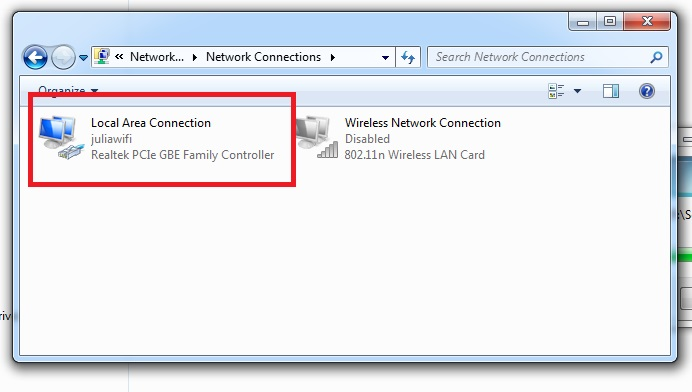 Local Area Connection Unidentified Network | Windows Forum