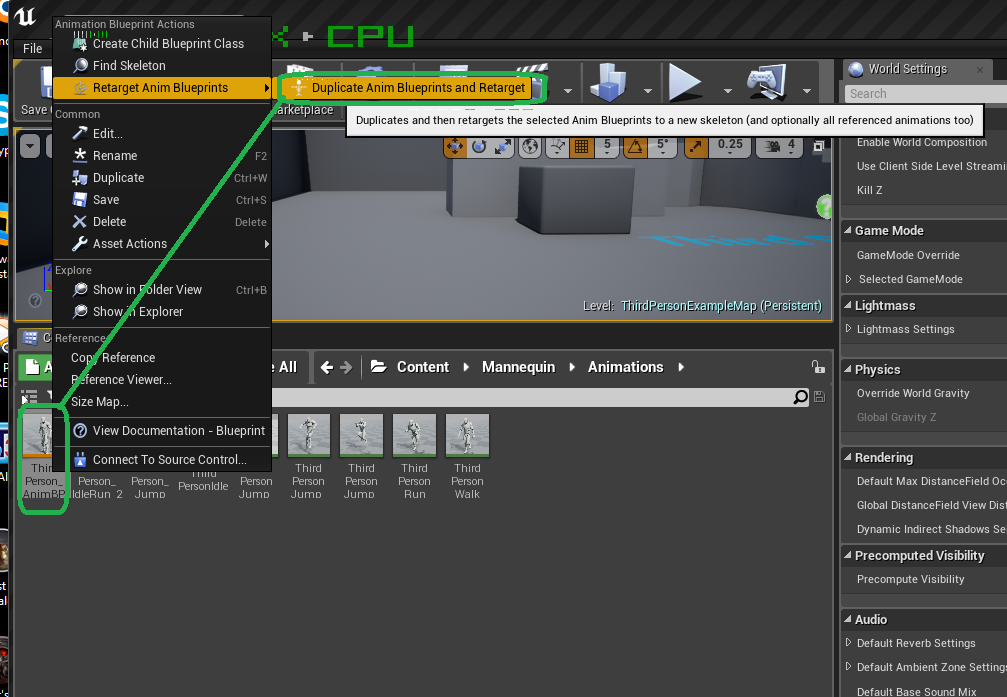 How to get fuse characters working in unreal engine 415 windows forum screenshot 874g malvernweather Gallery
