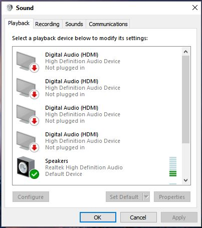 Windows 10 - [SOLVED] On-board audio driver problem with