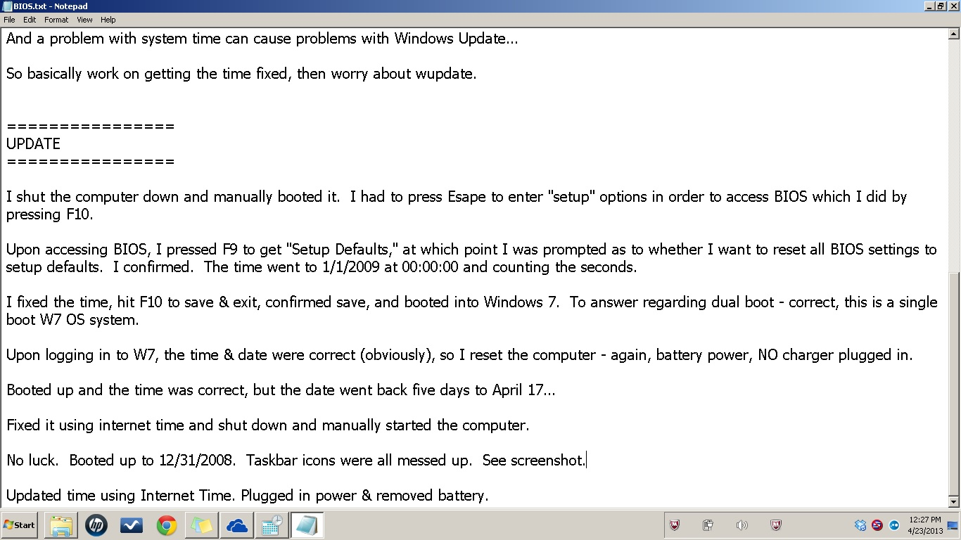 Windows 7 Issues with Motherboard & Updates  | Windows Forum