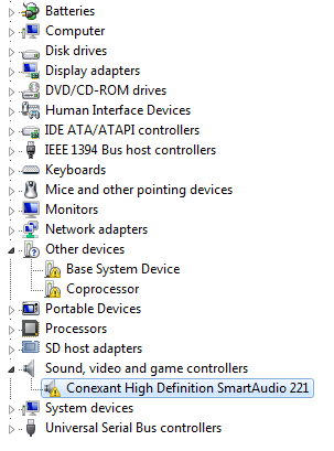 Conexant Hd Audio Smartamc Hd2 Driver
