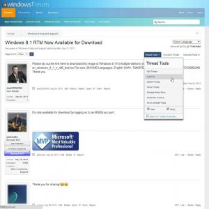 WindowsForum.com - Forum Updates for August 8, 2014