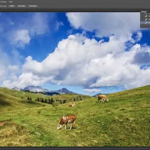 Adobe Photostop CC 2015 Content Aware Move Tool Tutorial - YouTube