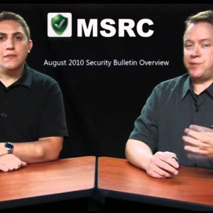 Microsoft's August 2010 Security Bulletin Overview