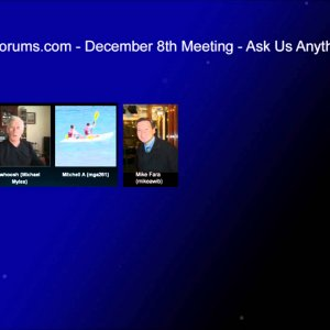 Windows 8 Forums - Ask Us Anything! Meeting